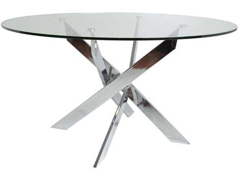 table basse ronde verre et bois table basse ronde verre et bois scandinave fjord wraste