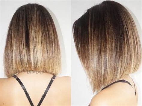 a line bob ombre 40 spectacular blunt bob hairstyles page 2 foliver blog