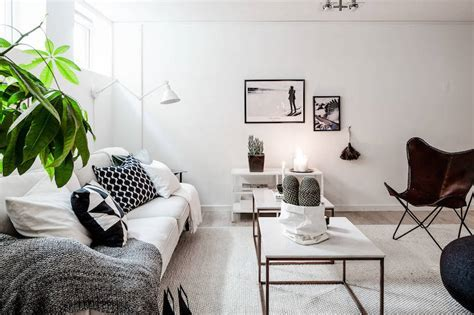 Clean Scandinavian interior design style