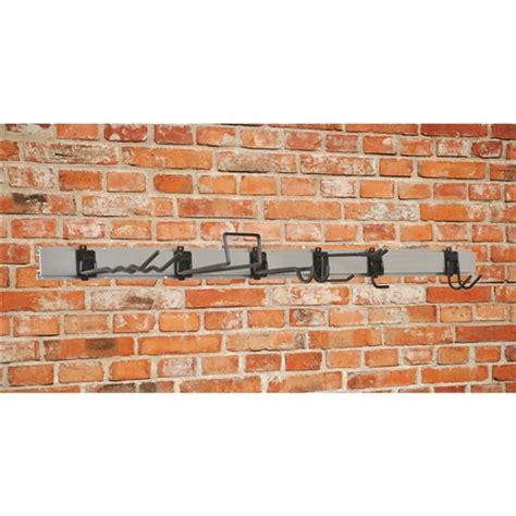 Garage Wall Hook System by Garage Worx Hook Track System 8 Wall Storage 6