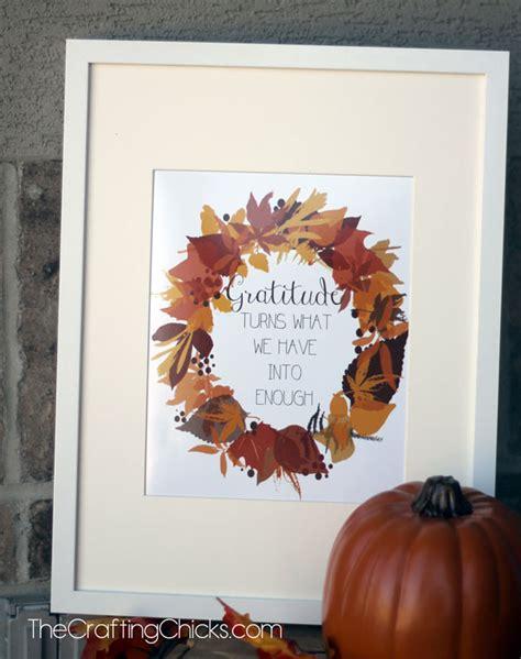 gratitude fall printable