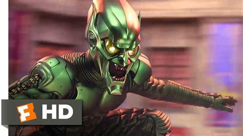 goblin film youtube spider man movie 2002 green goblin attacks the