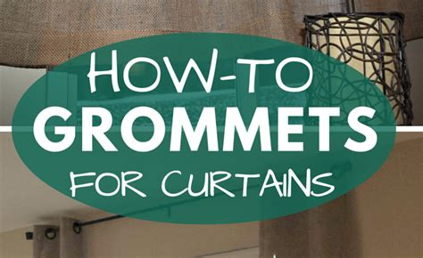 adding grommets to curtains how to add grommets to curtain panels our home made easy