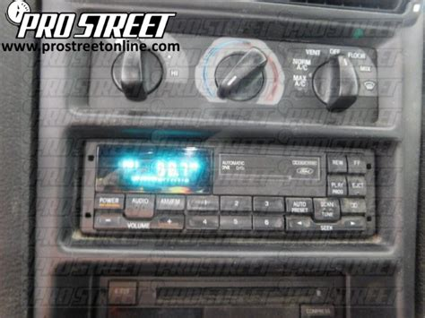 how to ford mustang stereo wiring diagram my pro
