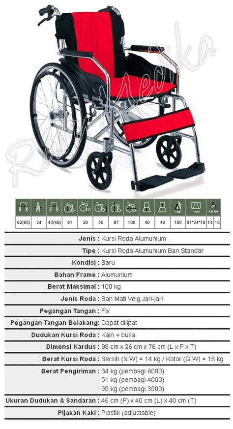 Kursi Roda Ringan kursi roda aluminium travelling ringan murah