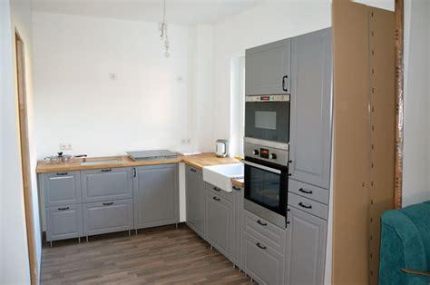 küchenzeile l form mit geräten luxus landhausk 252 chen