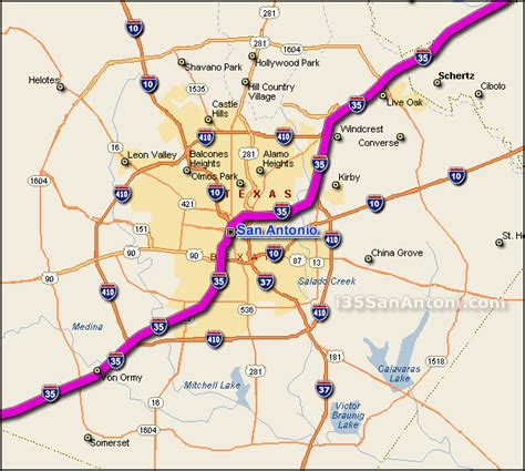 map to san antonio texas i 35 san antonio traffic maps and road conditions