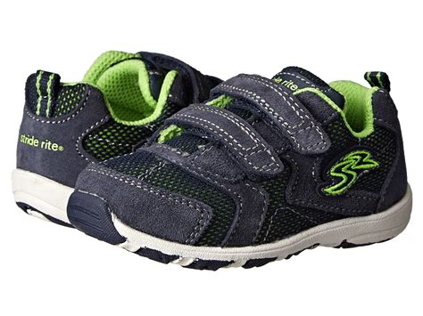 stride rite kid shoes stride rite christopher toddlerlittle kid navy boys shoes