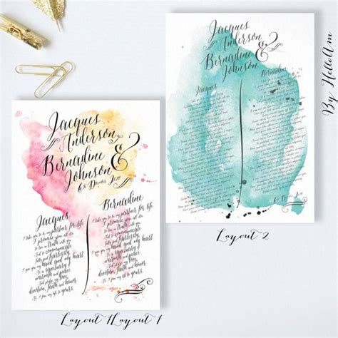 Wedding Vows Anniversary Gift by 25 Best Ideas About Wedding Vow On Canvas