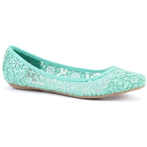 lace pumps shop for lace pumps on polyvore mint green lace ballet pumps shoes flats boots high