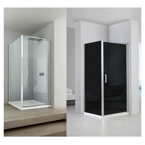 box doccia policarbonato box doccia anta fissa porta a battente h200 cristallo