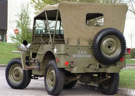 ww2 jeep side view car willys mb car specifications and history of creation