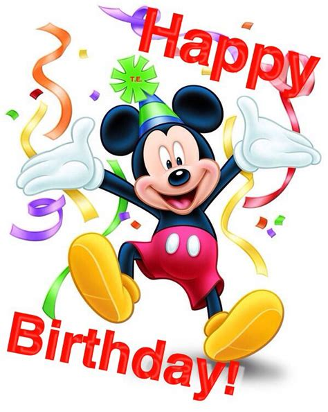 Mickey Mouse Happy Birthday Images | mickey mouse birthday quotes quotesgram