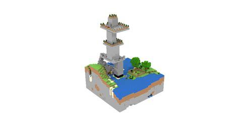Minecraft Tower: Spin by bladehawk949 on DeviantArt