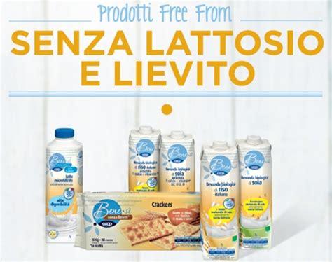 alimenti senza lattosio coop prodotti senza lattosio free from coop