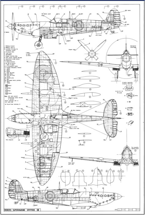 Draw Scale Diagram Online warbirds restoration technical drawings and blueprints