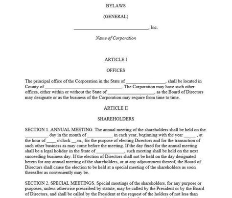 church constitution template church bylaws template pdf templates resume exles