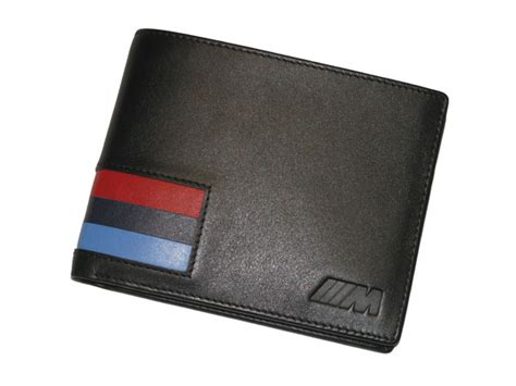 Bmw M Wallet by Genuine Bmw M Leather Wallet