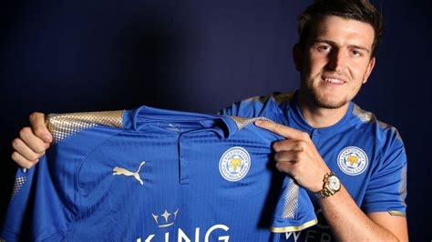 harry maguire leicester city fans delighted with harry maguire signing