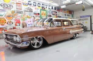 1960 chevy impala wagon 1960 chevy nomad wagon air ride 22 20 4 wheel corvette