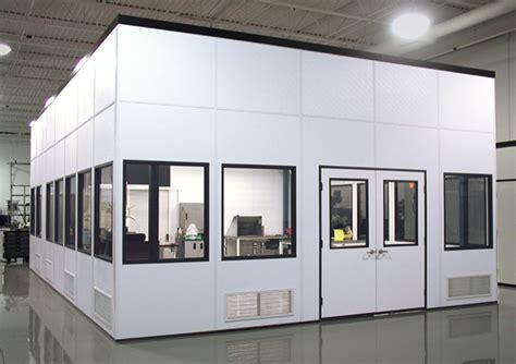 prefab rooms in plant buildings and offices a wall building systems