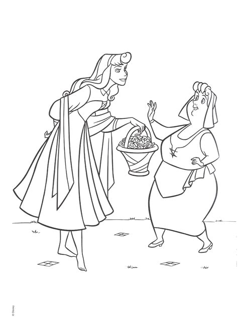 Sleeping Beauty Coloring Pages Coloring Pages To Print Sleeping Color Pages