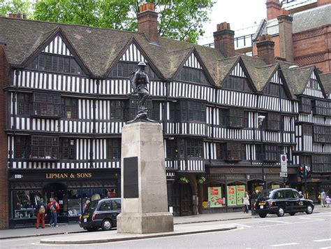 tudor building file half timbered tudor buildings high holborn jpg