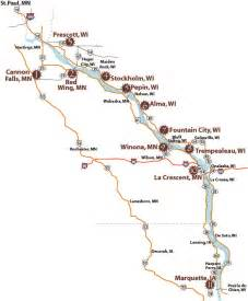 Wisconsin Brewery Map by Great River Wine Trail Map Wisconsin Wineries Breweries