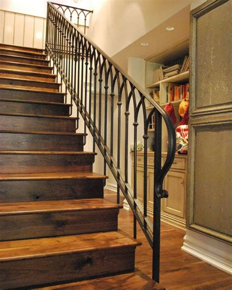 metal banister ideas 25 best ideas about iron stair railing on pinterest