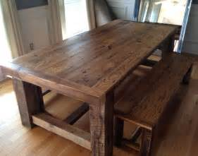 Hardwood Kitchen Tables Best 25 Reclaimed Wood Tables Ideas On Reclaimed Wood Table Top Reclaimed Wood