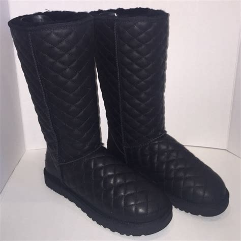 Ugg Quilted Boots by 39 Ugg Shoes Ugg Australia Quilted Leather Classic