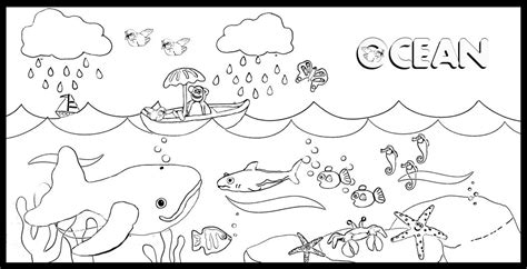 ocean coloring pages preschool ocean coloring pages to download and print for free