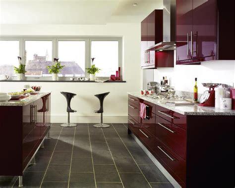 Burgundy Kitchen by 404 Not Found