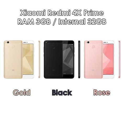 Redmi 4x Prime 3 32gb Gold xiaomi redmi 4x prime 3 32gb gold black baru