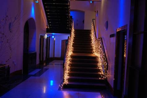 christmas lights for stair banisters 3 easy ways to decorate the stair banister