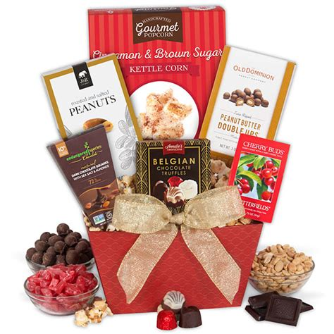 a taste of christmas gift basket by gourmetgiftbaskets com