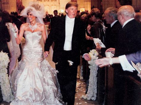Donald Trump Wedding | throwbackthursday melania and donald trump s million