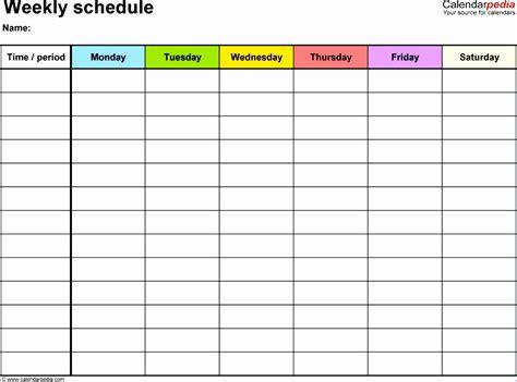 daily calendar 15 minute increments template bilder
