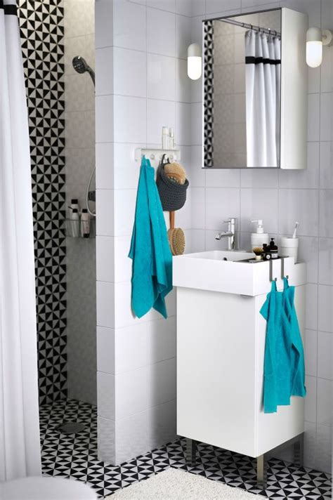 bathroom ideas ikea small bathroom space not a problem with the lillangen
