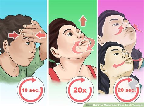how to make face look thinner men how to make your face look younger with pictures wikihow