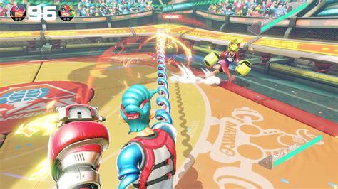 Nintendo Switch Arms arms para nintendo switch impresiones juego de boxeo hobbyconsolas juegos