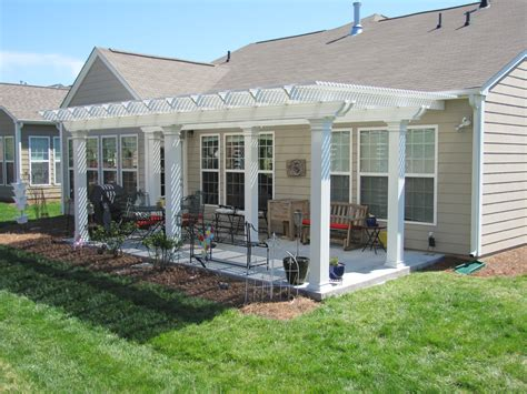 1 Story House Plans With Wrap Around Porch coolbreeze freestanding deluxe aluminum pergola all