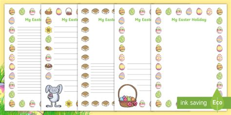 easter card templates twinkl my easter writing frames writing frame frame