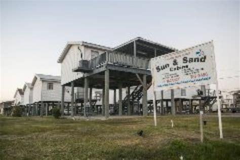 grand isle rental cabins motel sun sand cabins