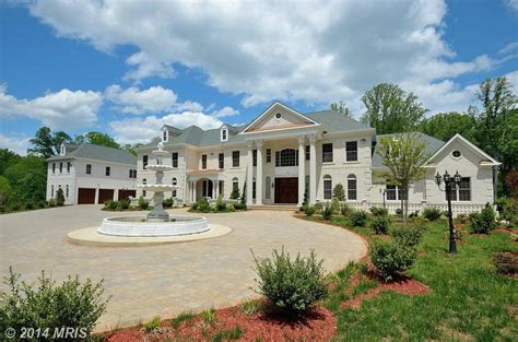Home Five by Newly Built 16 000 Square Foot Colonial Mansion In Great