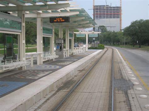 panoramio photo of houston light rail station