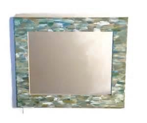 themed mirror themed bathroom mirror shabby chic by mullaneink