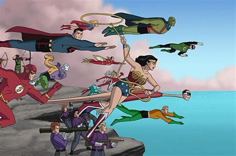 movie justice league new frontier is the new frontier the best superhero movie ever made
