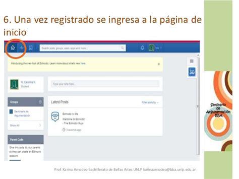 tutorial edmodo en castellano tutorial edmodo para seminario de argumentaci 243 n