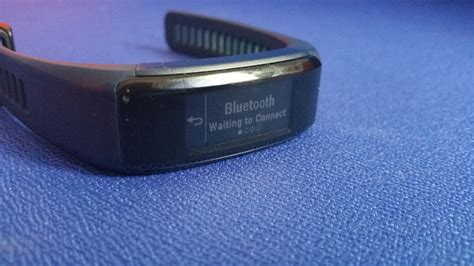 vivosmart reset bluetooth vivosmart hr by garmin and galaxy j5 prime by samsung